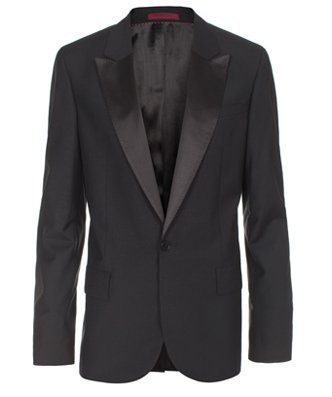 Paul Smith Jackets - Slim-Fit Black Dinner Jacket