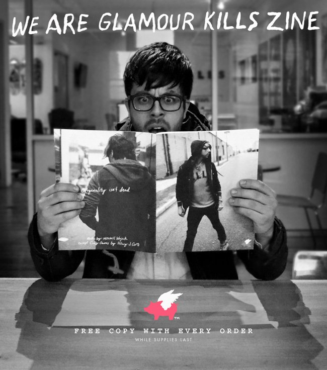 We Are GK Zine included in every order Free.  Limited run, while supplies last.