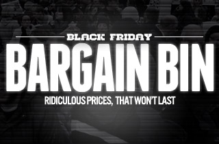Black Friday Bargain Bin