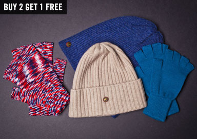 Shop Chill Out: Cold Weather Accessories
