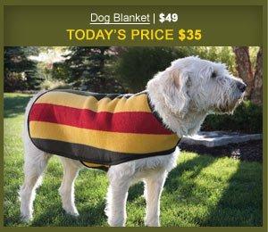 Dog Blanket | $49 | Today's Price $35