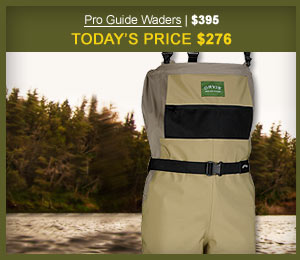 Pro Guide Waders | $395 | Today's Price $276