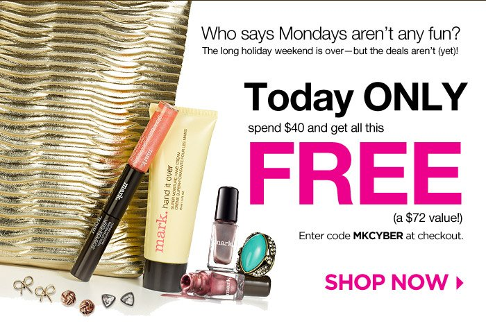 Today Only! Spend $40 and get all this FREE!