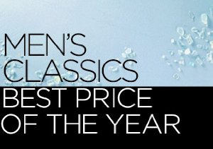 Men's Classics: Best Price of the Year