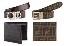 Luxe Little Extras Men's Belts, Wallets, & More