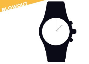 Watch blowout from $1: Invicta, Swiss Army, Cartier