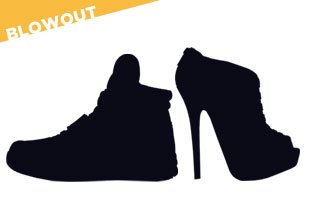 Shoes Blowout from $1