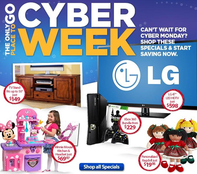 Pre-Cyber Week Specials