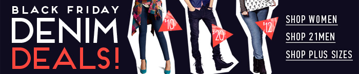 Black Friday Denim Deals! - Shop Now