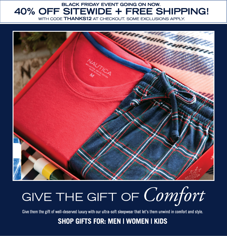 Give the Gift of COMFORT