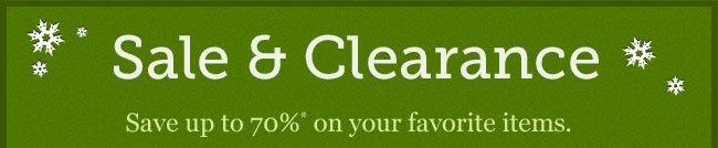 Shop Sale & Clearance
