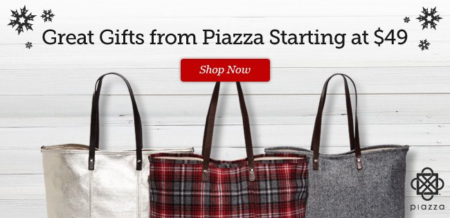 Make your winter style pop with new Piazza Vita Tote colors and patterns. Shop Now >