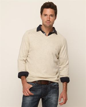Pedro Del Hierro Cashmere Blend V-Neck Sweater