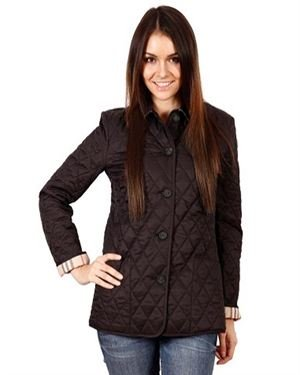 Burberry Button-Down Quilted Jacket