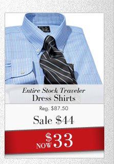 Traveler Dress Shirts