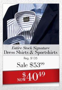 Signature Dress Shirts & Sportshirts