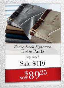 Signature Dress Pants