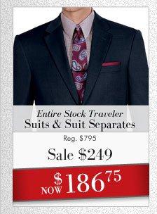 Traveler Suits & Suit Separates