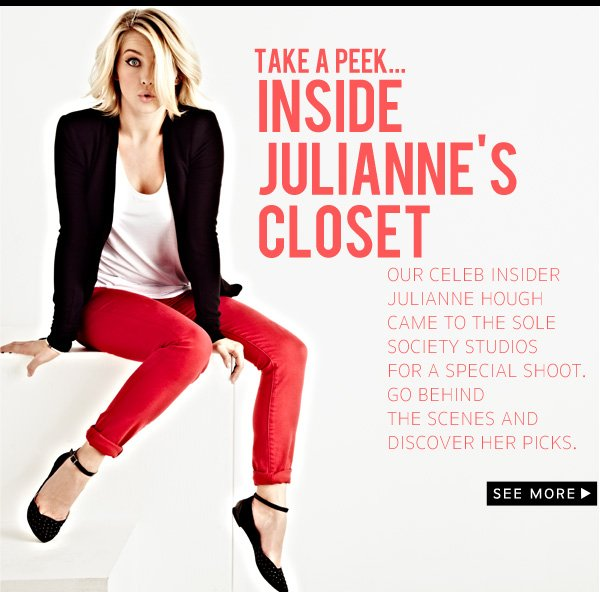 Take a peek inside Julianne's Closet