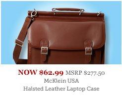 McKlein USA Halsted Leather Laptop Case