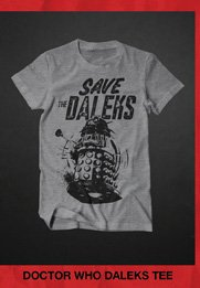 DOCTOR WHO DALEKS TEE