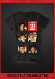 1D GIRLS TEES