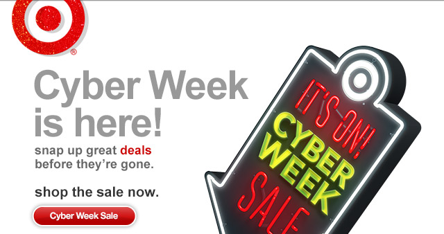 Cyber Week is here! Snap up great deals before they're gone.