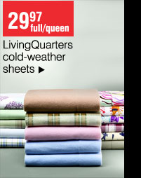 29.97 full/queen LivingQuarters Cold Weather Sheets