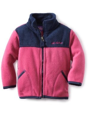 Pink Platinum <br/> Colorblock Fleece Jacket
