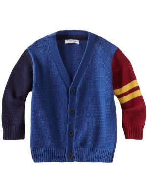 Kitestrings <br/> Cotton Varsity Cardigan Sweater