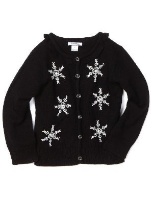Hartstrings <br/> Snowflake Cardigan Sweater