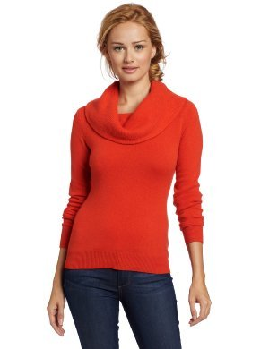 Sofie <br/> Cashmere Textured Cowl-Neck Sweater