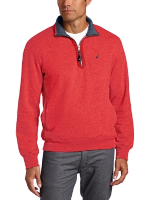 Nautica <br/> One-Fourth Solid Fleece