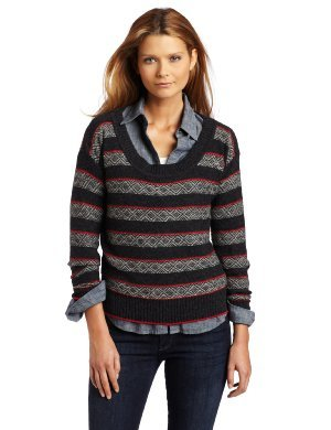 Splendid <br/> Stripe Fairisle Boatneck Top