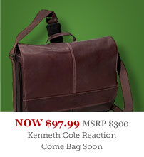 Kenneth Cole Reaction Come Bag Soon