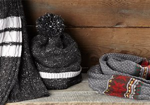 All Bundled Up: Cold Weather Accessories