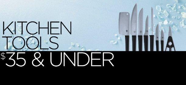 KITCHEN TOOLS: $35 & UNDER, Event Ends November 26, 12:00 AM PT >