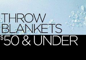 Throw Blankets Under $50