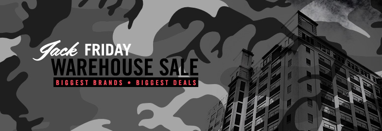 Shop Jack Friday Mega Warehouse Sale