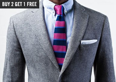 Shop Get On-Trend: Square Knit Ties