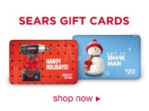 Sears Gift Cards | shop now