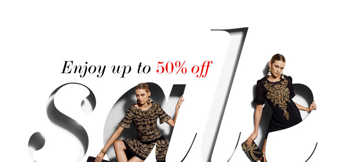 SALE – ENJOY UP TO 50% OFF