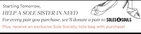 Help a Sole Sister in need...Soles4Souls
