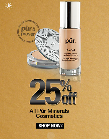 25% Off Pur Minerals