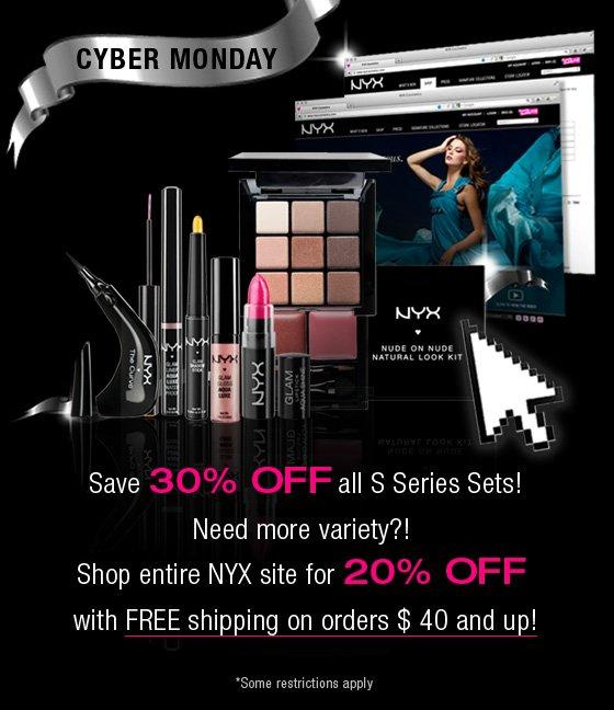 NYX Cyber Monday Deals!