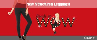 New Structured Leggings! Shop.