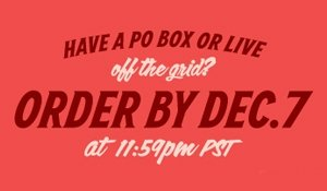 have a PO BOX or live off the grid?