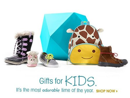 Gifts for KIDS. SHOP NOW