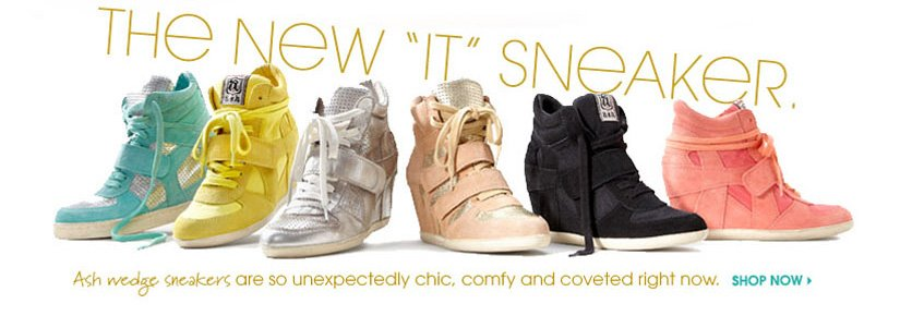 THE NEW 'IT' SNEAKER. SHOP NOW