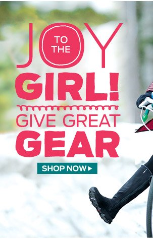 Give Great Gear >